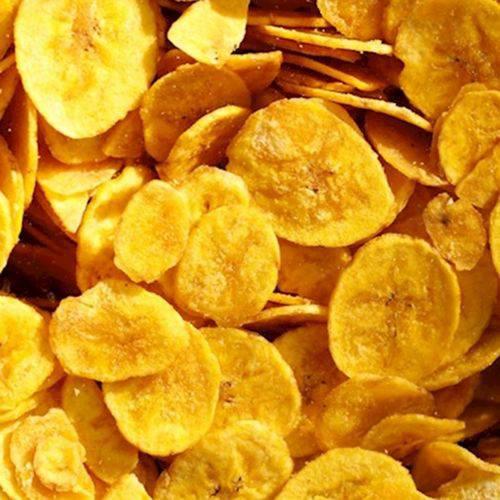 Banana Chips Salsa/Cebola Frita ( 100 Gramas)