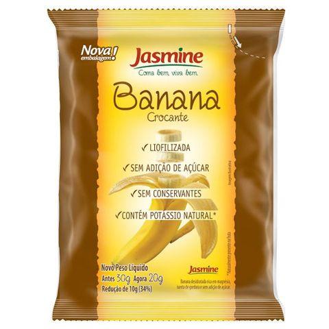 Banana Crocante 20g - Jasmine