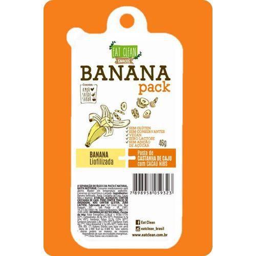 Banana Pack Castanha Cacau e Nibs 46g - Eat Clean