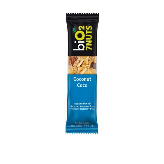 Barra Bio2 7nuts Coco 25g