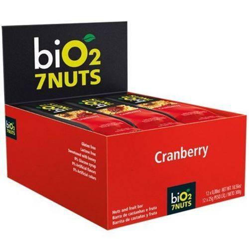 Barra Castanha/maca/nuts 12un X 25g Bio2