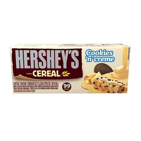 Barra Cereal Cookies C/3 - Hersheys