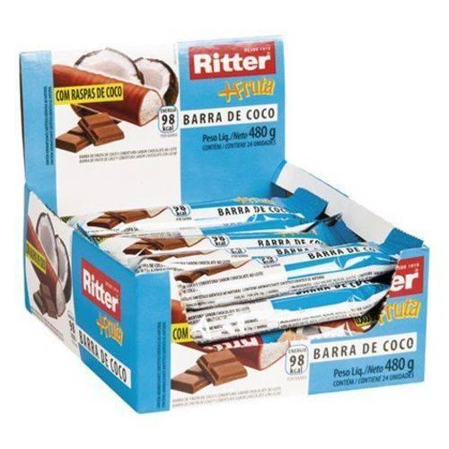 Barra Cereal Fruta Coco/chocolate 25g 24un Ritter