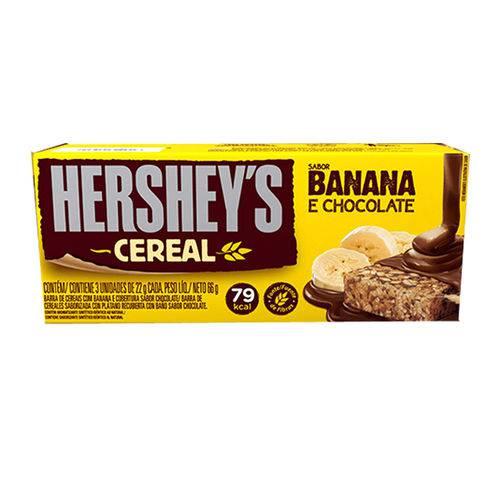 Barra Cereal Light Banana e Chocolate C/3 - Hersheys