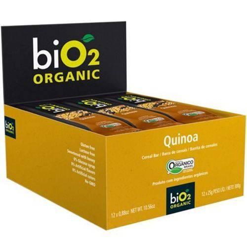 Barra Cereal Orgânico Quinoa 12un X 25g Bio2