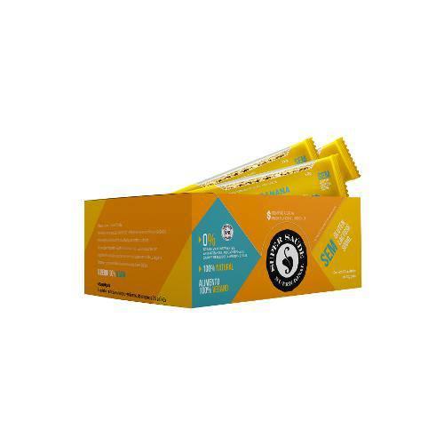 Barra Cereals Banana Super Saúde Caixa com 12 Unidades de 22g