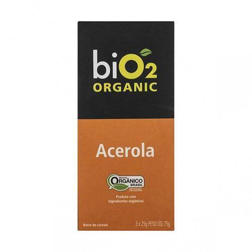 Barra de Cereais BiO2 Organic Acerola 25g X 3 - BiO2