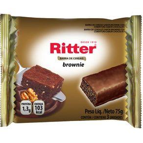 Barra de Cereais Ritter Brownie 75g