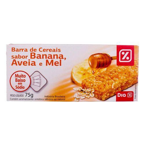 Barra de Cereal Dia Banana Aveia e Mel 75g