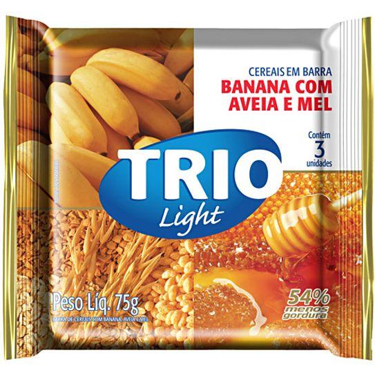 Barra de Cereal Trio Aveia Banana e Mel com 3 Unidades