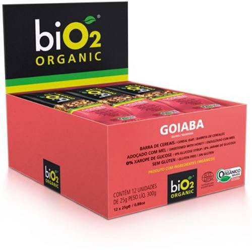 Barra de Cereais BiO2 Organic Goiaba 25g