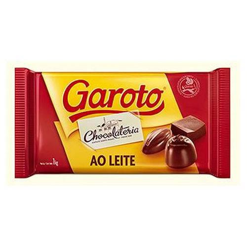 Barra de Chocolate ao Leite 1kg - Garoto