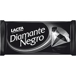 Barra de Chocolate Diamante Negro ao Leite Lacta 150g - 1 Unidade