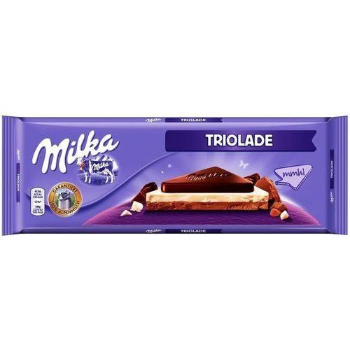 Barra de Chocolate Milka Triolade 280g