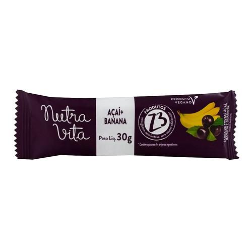 Barra de Fruta Nutra Vita Açaí + Banana com 30g