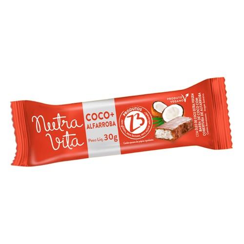 Barra de Fruta Nutra Vita Coco + Alfarroba Sem Adição de Açúcar 30g