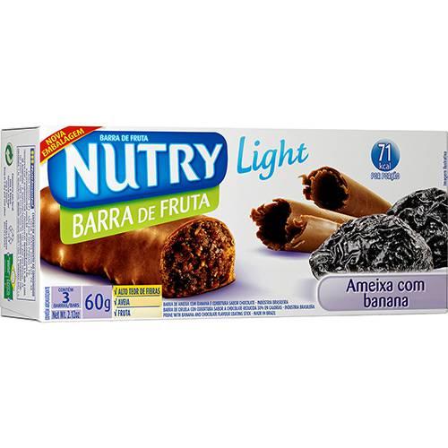 Barra de Fruta Nutry Ameixa com Banana Light 60g 3 Unidades