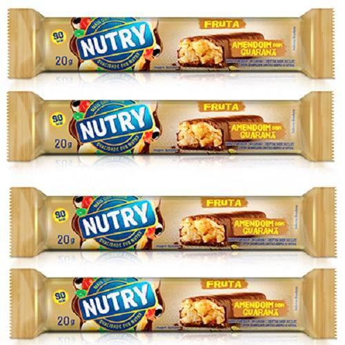 Barra de Frutas Nutry Amendoim Leve 4 Pague 3 Unidades