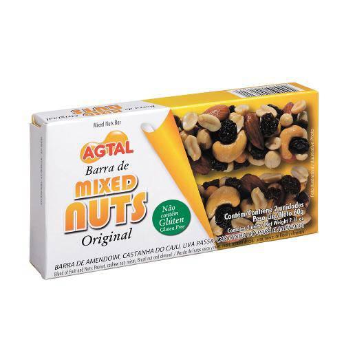 Barra Mixed Nuts C/2 Original - Agtal
