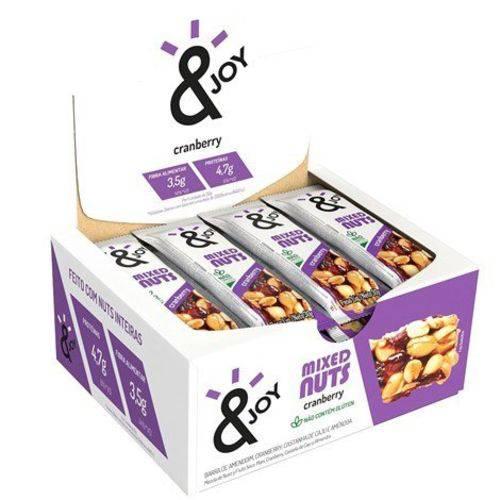 Barra Mixed Nuts Cranberry S/gluten 12 Und X 30g Ejoy