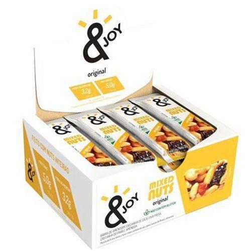 Barra Mixed Nuts Original S/gluten 12 Und X 30g Ejoy
