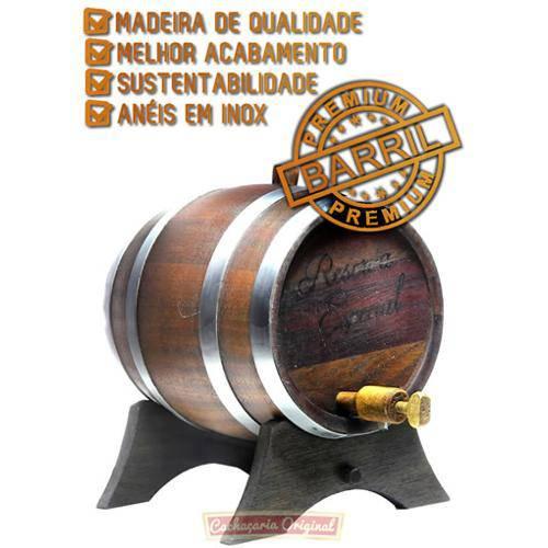 Barril de Carvalho - Premium 5l(5000ml)