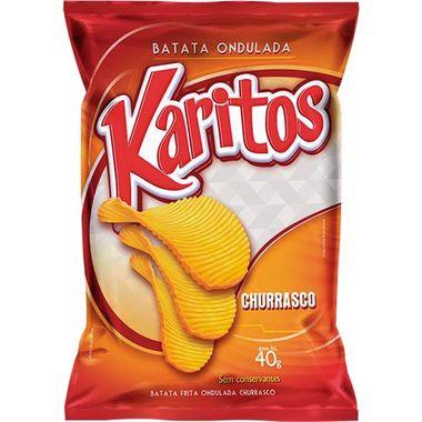 Batata Chips Churrasco Karitos 40g