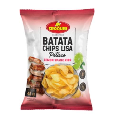 Batata Chips Lisa Croques Lemon Spare Ribs 45g