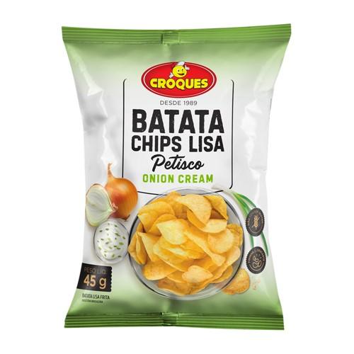 Batata Chips Lisa Croques Onion Cream 45g