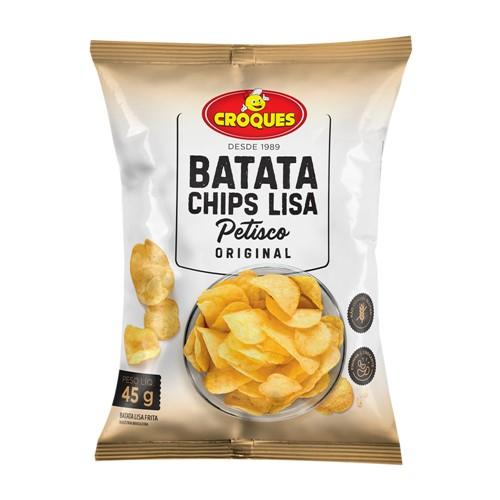 Batata Chips Lisa Croques Original 45g