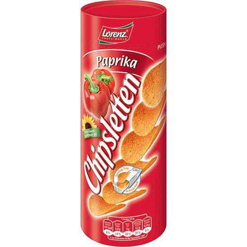 Batata Frita Chipsletten Paprika 100g Lorenz
