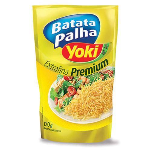 Batata Palha Premium Extra Fina 120g - Yoki