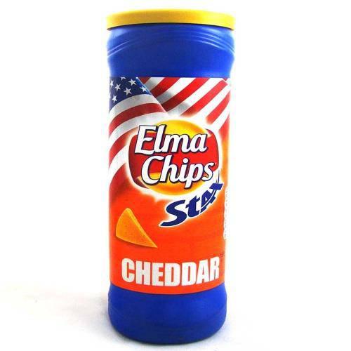 Batata Stax Cheddar 163g - Elma Chips