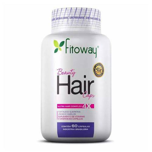 Beauty Hair 60 Caps - Fitoway