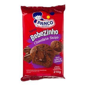 Bebezinho Recheado Chocolate Suíço Panco 210g