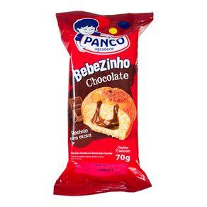 Bebezinho Recheado Sabor Chocolate Panco 70g