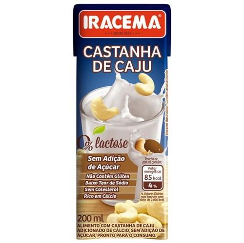 Bebida Castanha Caju Iracema 200ml