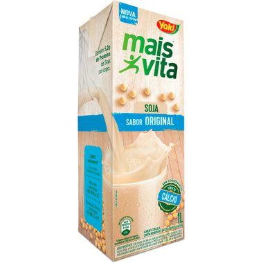 Bebida de Soja Mais Vita Original Yoki 1L