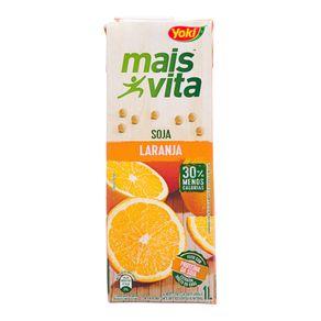 Bebida de Soja Mais Vita Sabor Maçã Yoki 1L