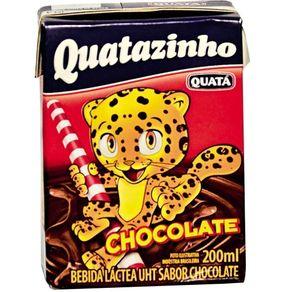 Bebida Lactea de Chocolate Quata 200ml