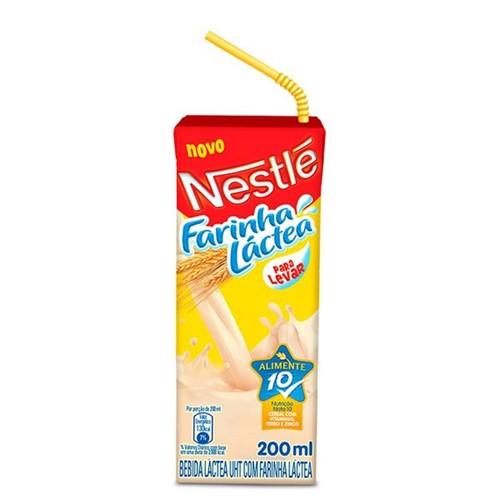 Bebida Lactea Nestlé Farinha Lactea 200ml