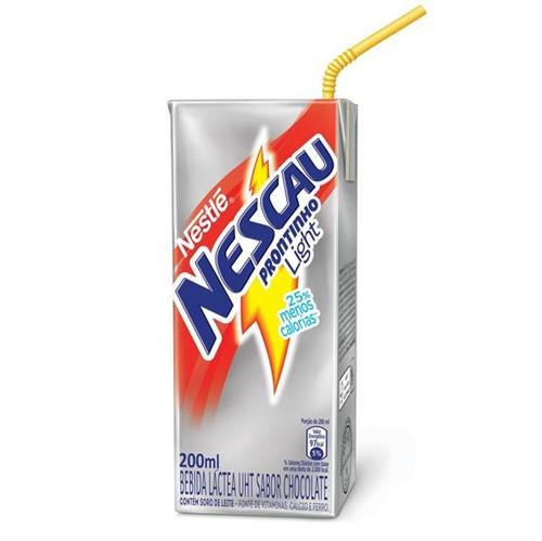 Bebida Láctea Nestlé Nescau Light Prontinho 200ml
