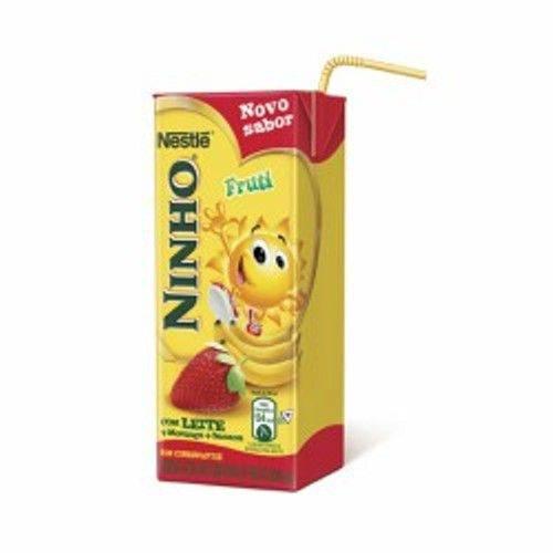 Bebida Láctea Nestlé Ninho Morango com Banana 200ml