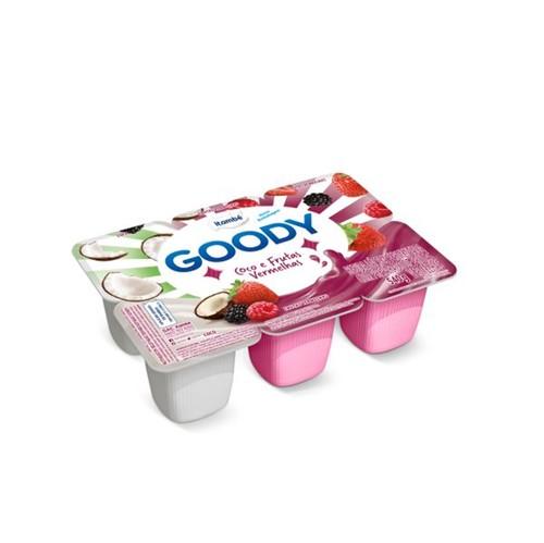 Bebida Láctea Pplpa Goody 540g Coco Frutas Vermelhas
