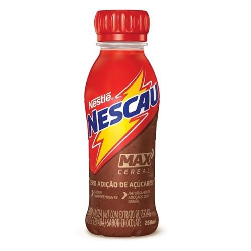 Bebida Lactea Uht Fast 260ml Nescau Max Cereal