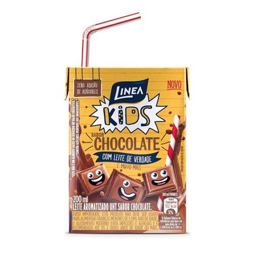 Bebida Lactea Uht Linea 200ml Zero Açúcar Chocolate