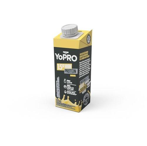 Bebida Lactea Yopro 250ml Banana