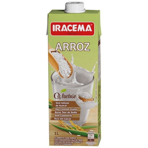 Bebida Leite Iracema 1l Arroz