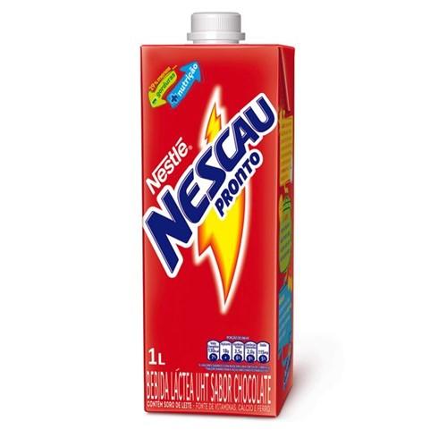 Bebida Nescau Láctea Pronto 1l