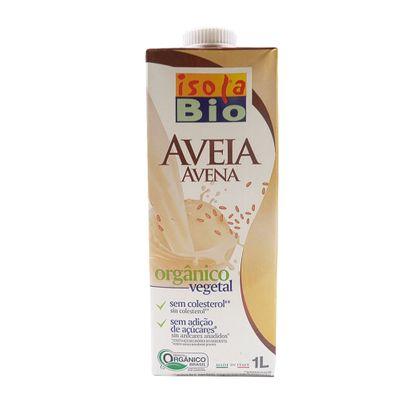 Bebida Vegetal Orgânica de Aveia 1L - Isola Bio